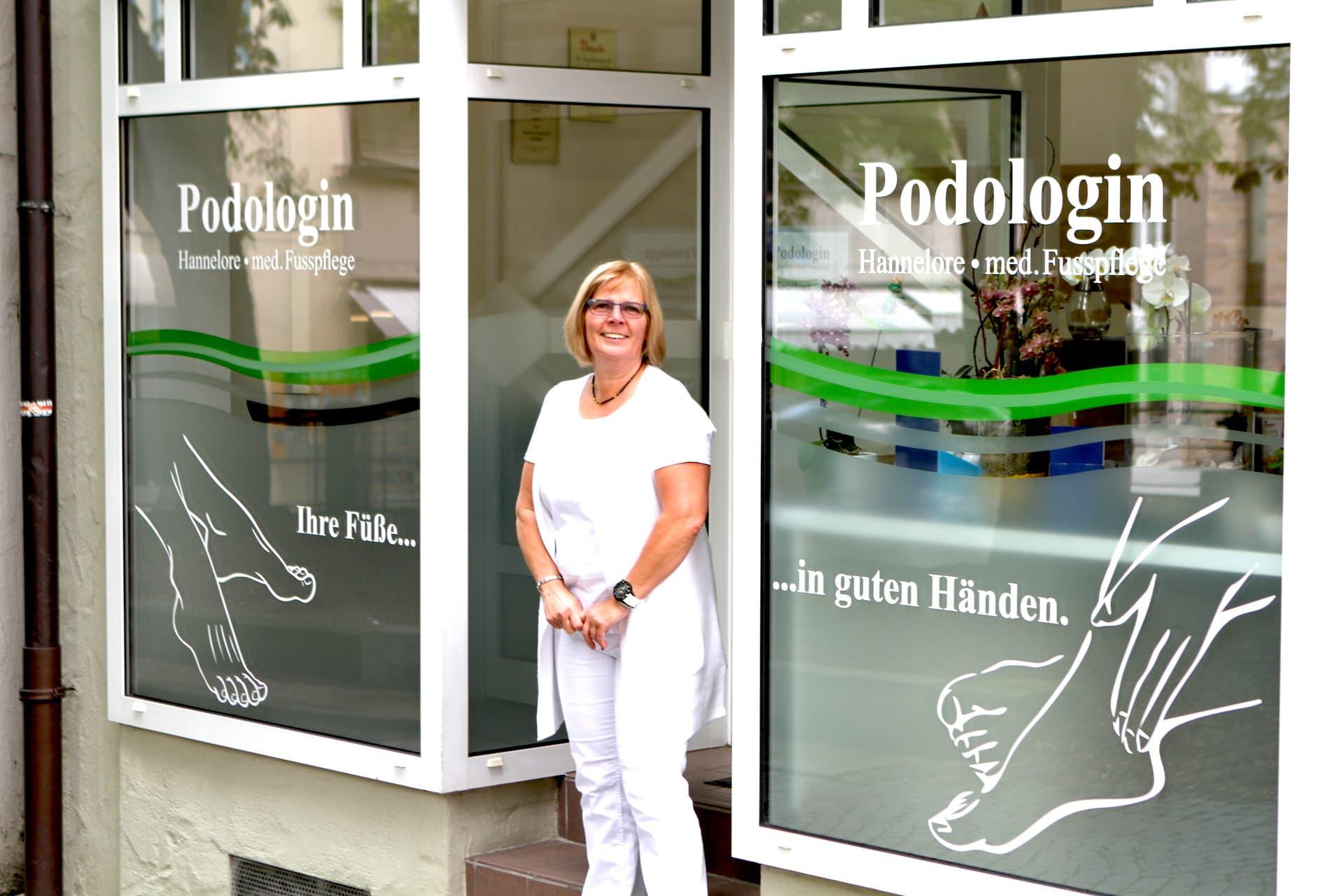 Podologin Schorndorf Hannelore Rienecker